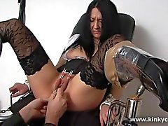 Sounding and pussy punishment