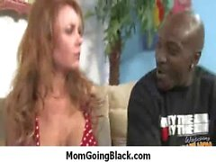 Nasty milf honey sucks and fuck a big black dong 7