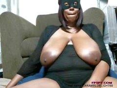 Cat women got nice big black tits