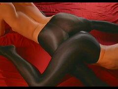 Silky Black Pantyhose