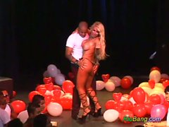 Blonde busty from rio banged