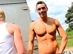 Extremt varm gay jävligt samt en deckare suger