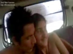 Shy Teen in Car Hindi Video(sexcollage)