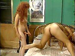 Hermaphrodite de Dane Harlow Meets de Ron Jeremy et de sa petite amie