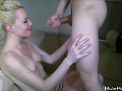 Teen Cheerleader Fucking Her New Boyfriend