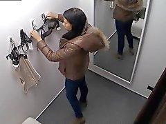 Exhibista Spycam Precioso adolescente de triguena que Lencería Fitting