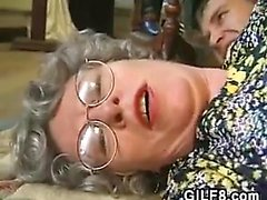 Granny From Germany Wants His Hard Cock