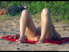 Naked Hot Nudist Ladies Spied on hidden camera Voyeur beach