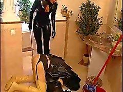 dominatrix sissy maid, Strapon