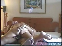Horny couple having a banging time and filming their action