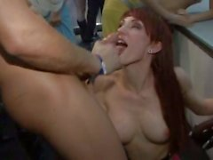 Sharka Blue and Sofia Valentine are filthy chicks that have group sex