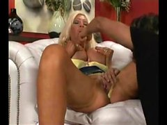 Big boobs blonde pussy fingering