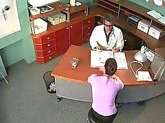 De mierda la cámara de seguridad en el hospital de falsas