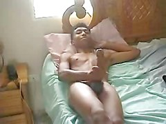 Big South Indian Penis wanked on Webcam for Horny Females