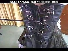 Japanese maid in bondage