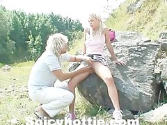 Svenska Amatore Swedish Blonde Sex Outdoor