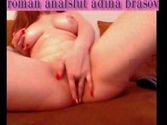 webcam slut adina from brasov with dildo