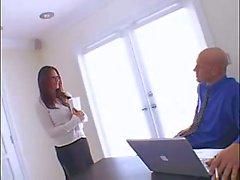 Busty secretary