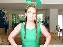 TeenCurves - Amazing Irish Ass Worshipped On St.Pattys