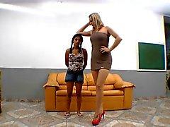 Brasilianische schwere Tramp Fußes Vorherrschaft
