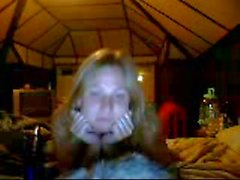 Funny Girl in WebCam