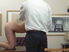 Teen mormon taboo rubs