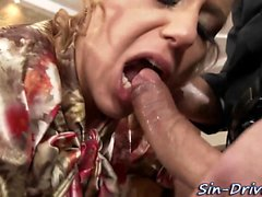 Glam fucked and felched