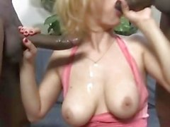 blonde secretary gets double penetrated