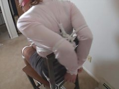 Sandra tightly chairtied