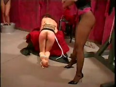 mistress punishing her slaves
