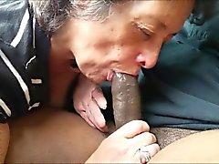 Amateur бабка еда черный член