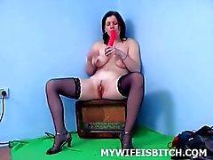 Poikkeava ja sexy vaimo