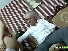 Vammainen vanhus nussii young blonde teini