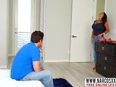 Hot Mother Ava Addams Caught Son