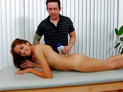 Hot massage and hotter fuck for Chloe Starr