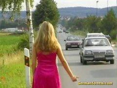 Recogimos adolescente de alemana en doublepenetration