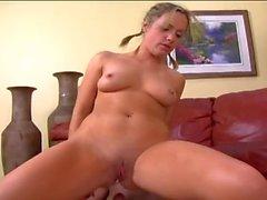 Pretty Blonde best Anal fuck - Big Cumshot