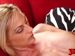 Sindy Lange - Blonde Slut Fucked