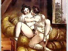 Erotik Biedermeier Çelik Gravür - Johann Nepomunk Geiger