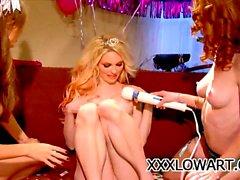 Jayme Langford des stars du porno , de Jana Jourdain , Heather Carolin et les