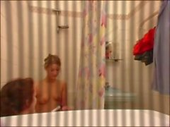Girls Shower On Hidden Cam