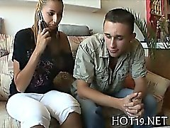 Babe fucked wild for cash