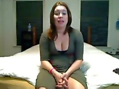 Horny Fat Chubby Teen sucking and fucking her BF on Cam