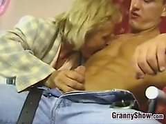 Grandma Wants To Be Fucked By A Stud