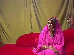 Utklädd till ser indiska men ändå trevligt