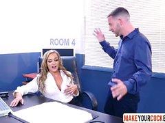 Office Mom Tucker Stevens Loves Porn