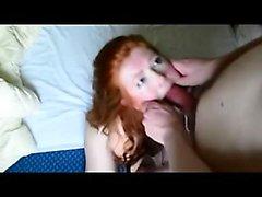 British redhead rough deepthroat Wanita from 1fuckdatecom