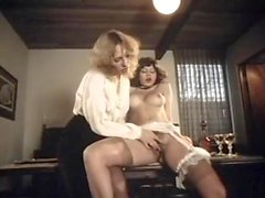 Desiree Cousteau in vintage sex video