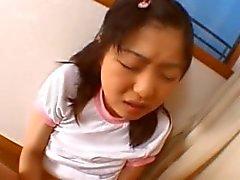 Innocent schoolgirl enjoy amateur sex