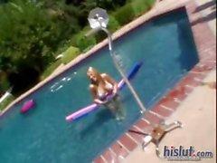 Girls in bikinies